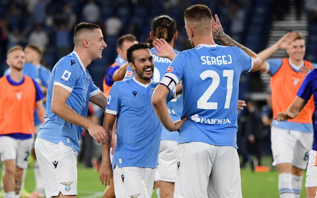 ¡Clásico de infarto! Lazio superó a la Roma con todo y gol de Pedro