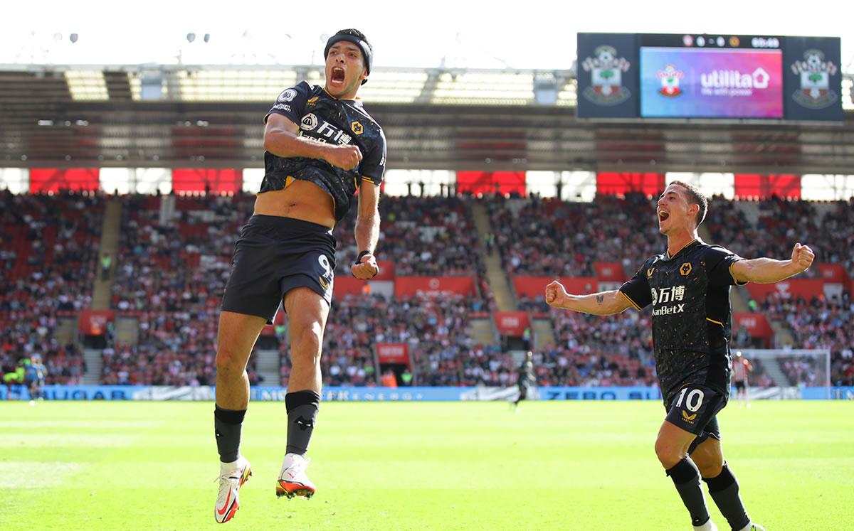 ¡Gol de Raúl Jiménez! Golazo con Wolves ante Southampton