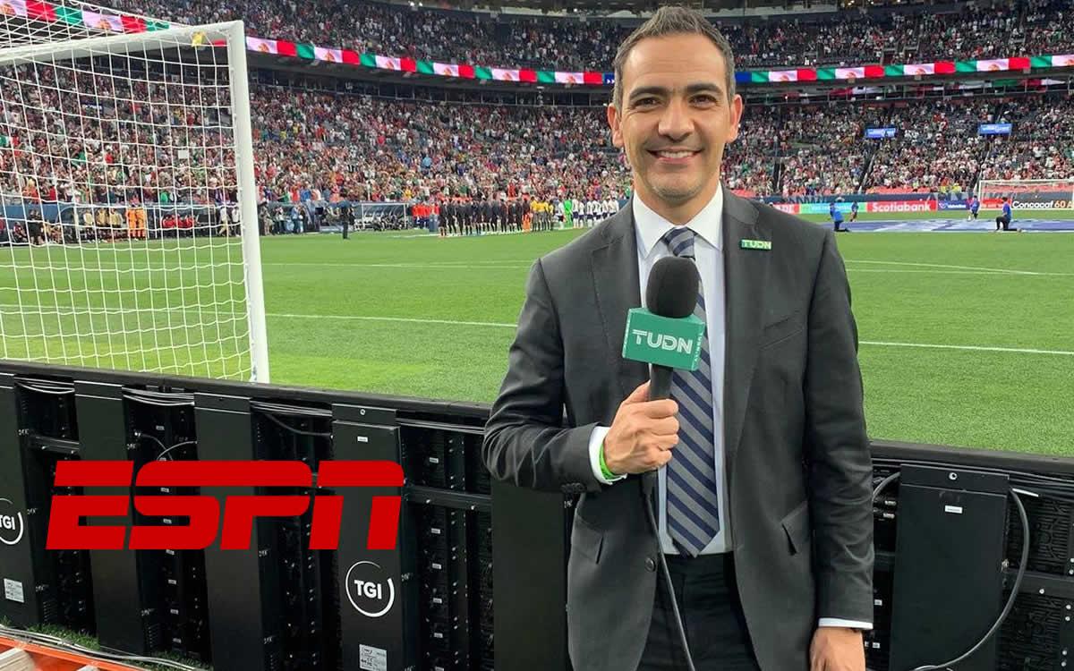 'En ESPN hacía los Mundiales en la azotea'; por esto Alex de la Rosa firmó con TUDN