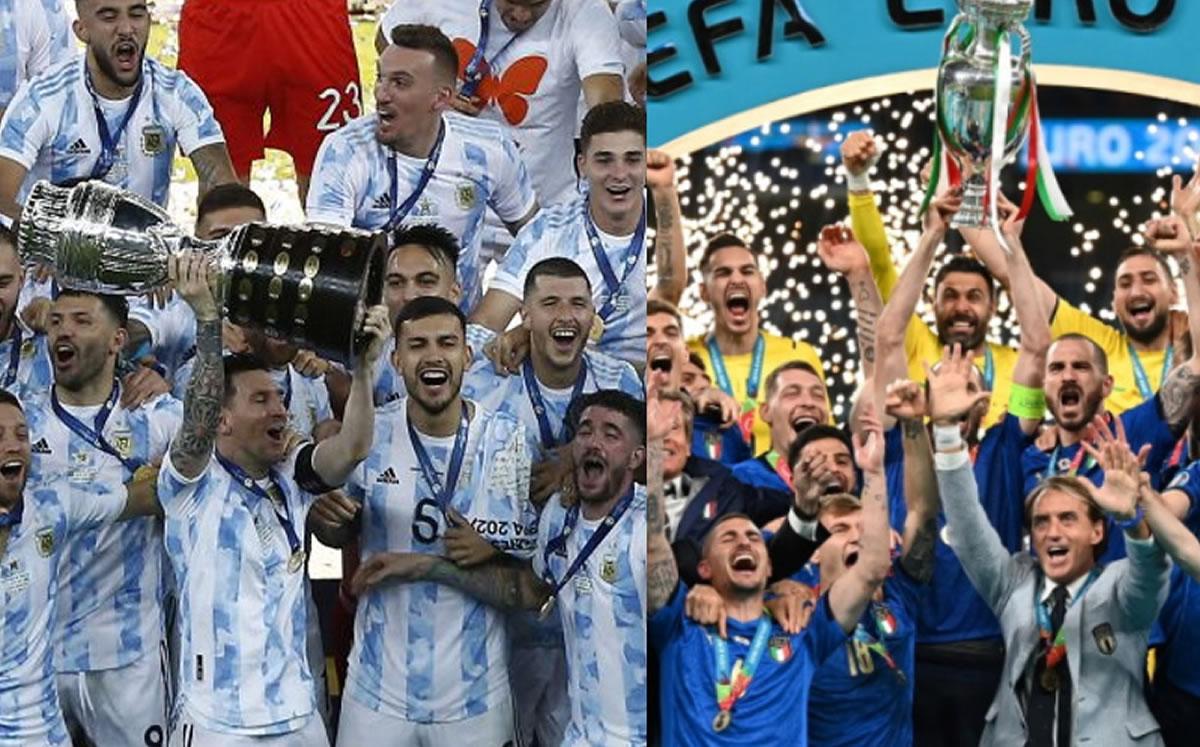 ¡Ya hay fecha! Argentina e Italia se enfrentarán en 2022 en acuerdo con Conmebol y UEFA