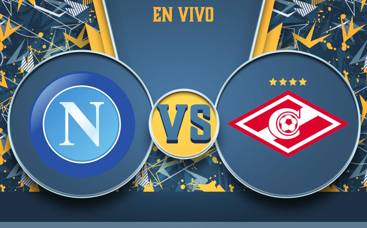 Napoli vs Spartak Moscú. Partido EN-VIVO