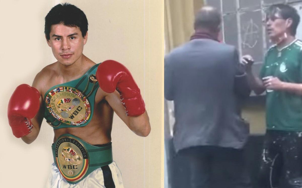 El Mago González, de pelear ante JC Chávez y Óscar de la Hoya a ser vagabundo
