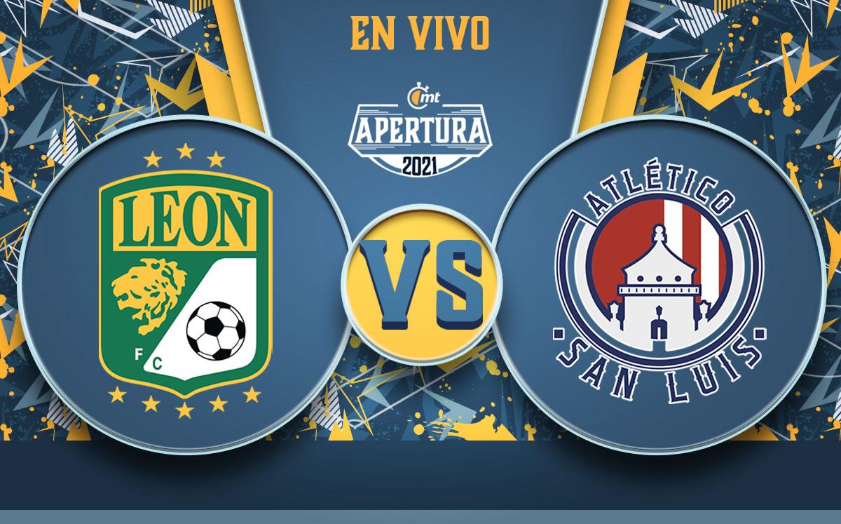 León vs Atlético San Luis EN VIVO. Partido de HOY de Liga MX
